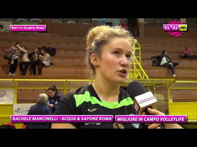 Interviste Rieti vs Olimpia Roma