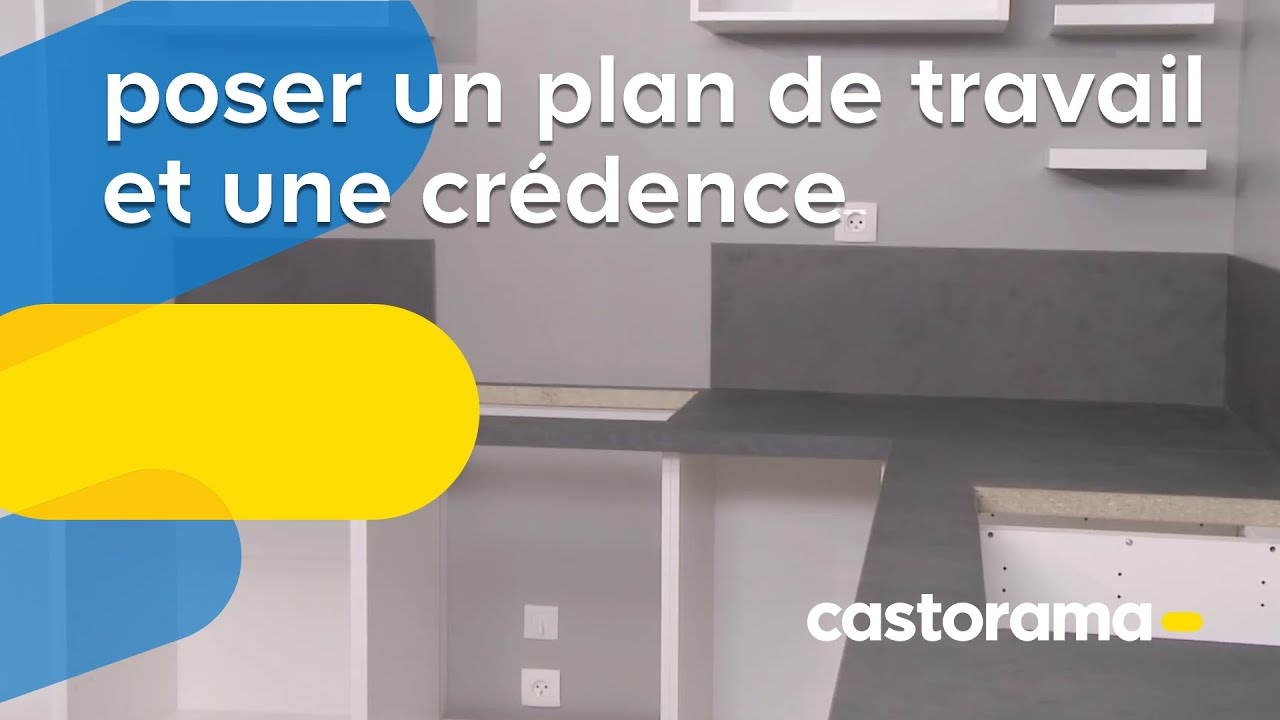Comment poser un plan de travail sans meuble top fixer fenetre pvc renovation toulon laque for Poser un plan de travail