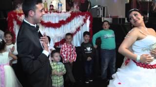 Gelin İle Damat'ın Düğün Salonuna Muhteşem Girişi
