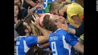 R5 Italy vs Iran Volleyball FIVB World League مسابقه والیبال لیگ جهانی ایران ایتالیا Italia Volley