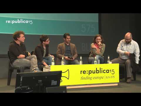 re:publica 2015 - Say it loud! Say it clear? Refugees are welcome here?! – Eröffnungspanel M... on YouTube