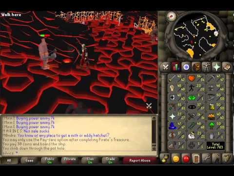 Guide to Safe Spotting TzHaar Creatures and Special Drop :)