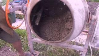 Заливка монолитного дома из тёплого бетона(Дом своими руками? Монолитные стены из тёплого бетона