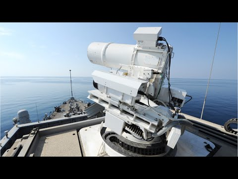 US Navy's Drone Killing Laser