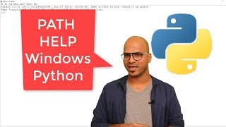 #7 Python Tutorial for Beginners  Python Set Path in Windows and Help