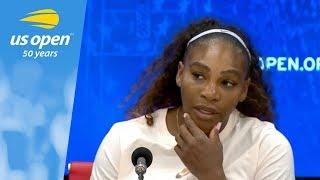US Open Press Conference: Serena Williams