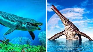 10 größte Meeressaurier, die es je auf der Erde gab
