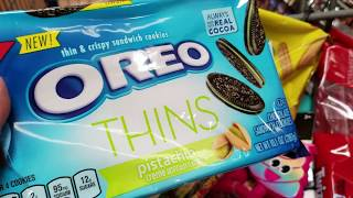 HskyArt Weird flavor of OREO cookie & Emoji haul at WALMART ! 2018 AtLA HSKY