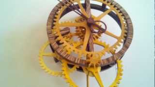 My First Wood Gear Clock