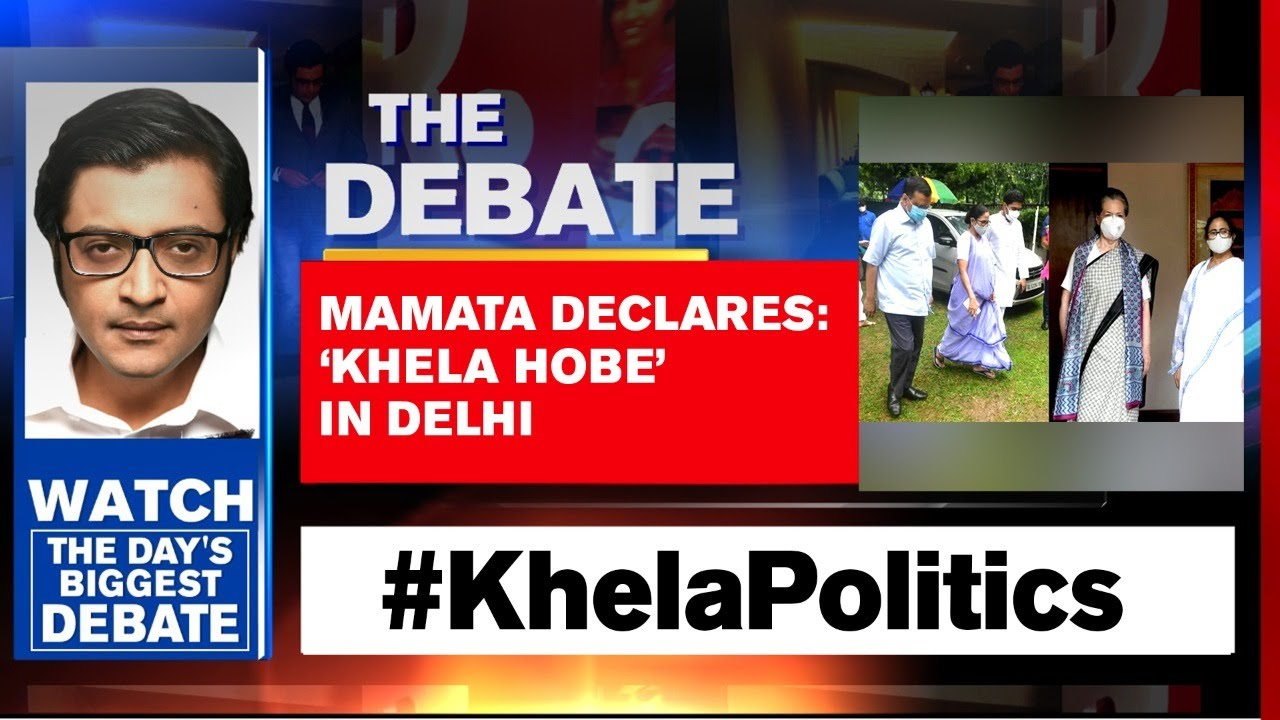 Mamata Banerjee Moves Fast To Stitch An Anti-Modi Alliance   The Debate With Arnab Goswami