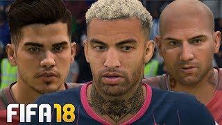 FIFA 18 - 63 NOVAS FACES ATUALIZADAS C/ QUARESMA, ANDRÉ SILVA E GIOVINCO