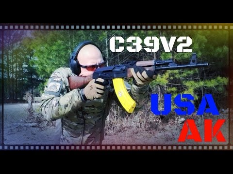 Century Arms USA Made C39V2 Milled AK-47 Review (HD)