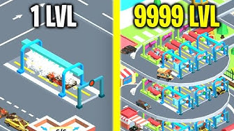 INCREDIBLE CAR WASH EMPIRE EVOLUTION! Max Level Strong & Speed Unlimited Gold HACK Idle Car Tycoon!