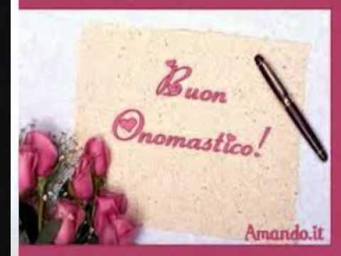 Exceptionnel Buon onomastico !!!. - YouTube GD09
