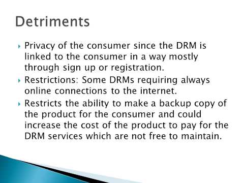 DRM(Digital Rights Management)