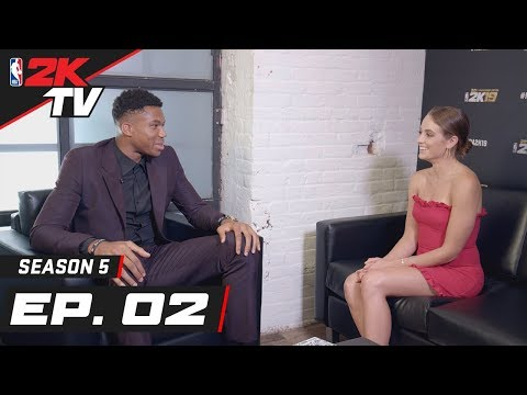 Giannis Talks his 2K19 Cover, Playing Against LeBron & more! - NBA 2KTV S5. Ep.2