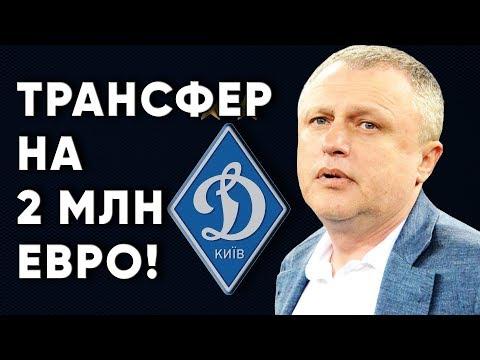 Дорогой трансфер Динамо Киев / Новости футбола Украина