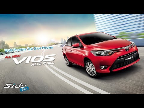 [Side พิเศษ] : World Premiere Test Drive Preview  All New Toyota Vios