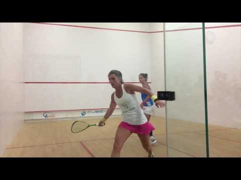 Jenny Duncalf vs. Rachel Grinham - Slo-Mo shots