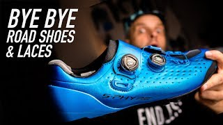 Leaving road shoes and laces behind! Shimano XC9 S-Phyre