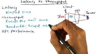 Latency vs Throughput - Georgia Tech - Advanced Operating Systems