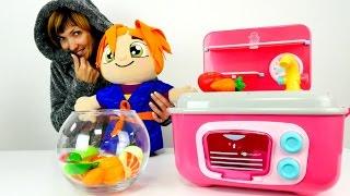Маша Капуки Кануки и #Лили готовят вкусный салат. Развивающее видео для девочек.