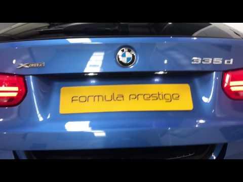 2016 BMW 335D XDrive MSport Estate In Estoril Blue