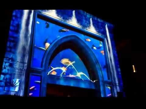 Dubai Festival of Lights 2014 Vertigo
