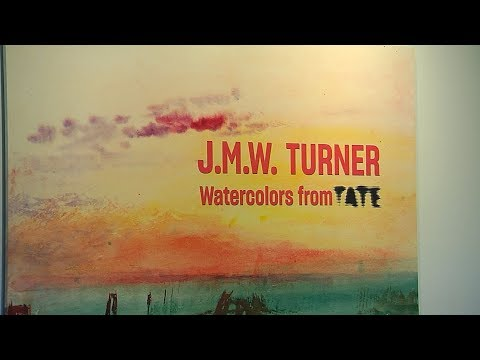 Turner's Watercolors Find A Maritime Home  – Open Studio with Jared Bowen