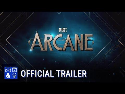 Arcane: League Of Legends Animated Series - Announcement Trailer