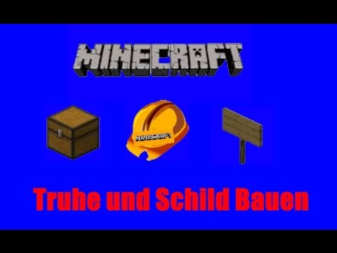 minecraft truhe schild bauen german youtube. Black Bedroom Furniture Sets. Home Design Ideas