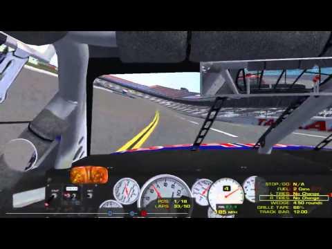 Arca Sim Racing: Talladega Full Race Onboard