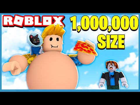 Becoming The Biggest With 1,000,000 SIZE In Roblox Munching Masters