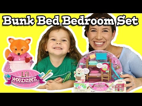 Lil Woodzeez Bunk Bed Bedroom Set