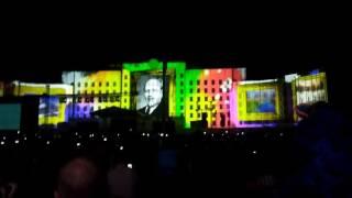 Лазерное шоу на 750 лет Могилева.