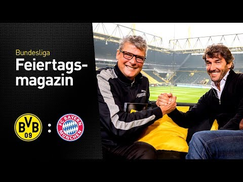 Matchday Magazine w/ Kalle Riedle   BVB - FC Bayern