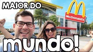 Qual o maior McDonalds do mundo