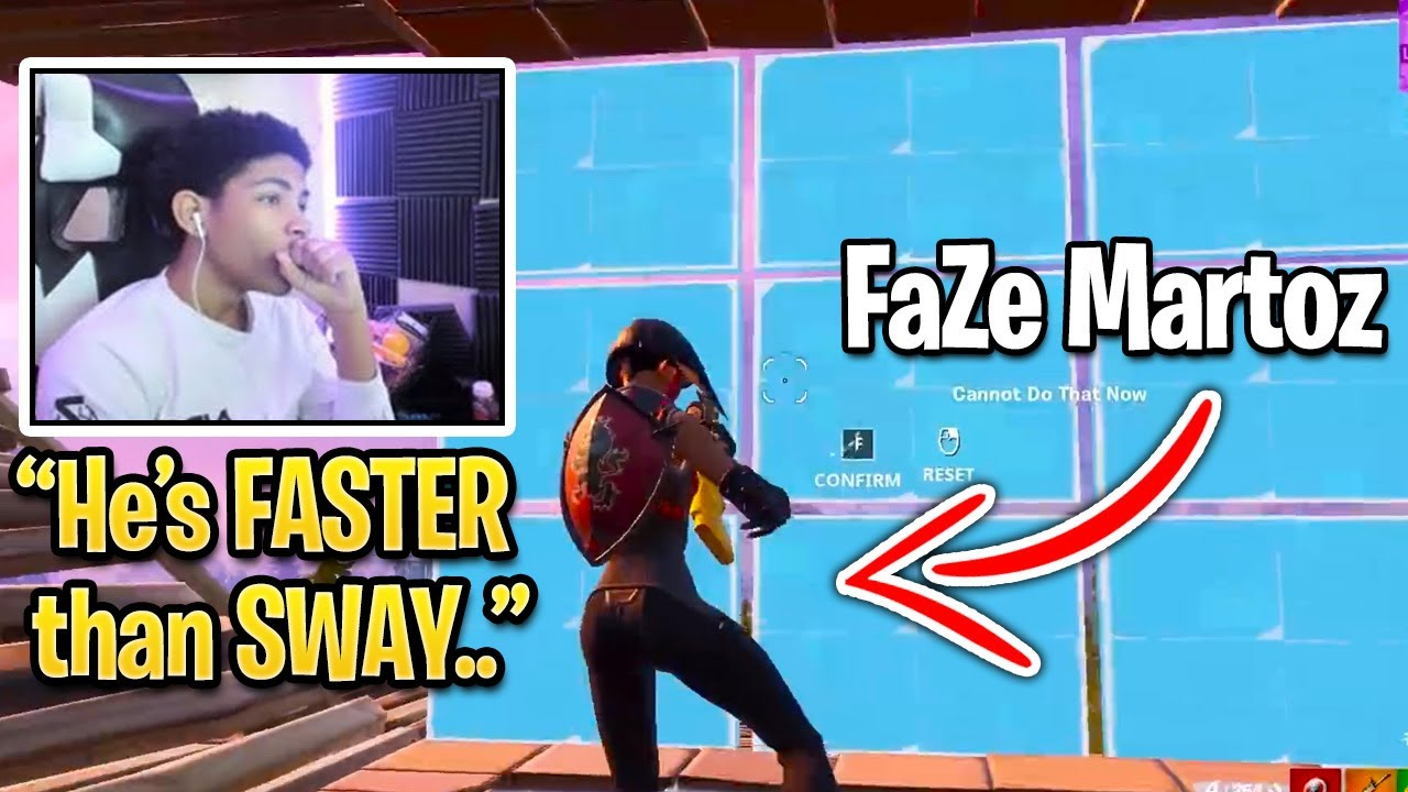 Unknown Reacts to FaZe Martoz Better Than FaZe Sway (Fortnite Season 3)