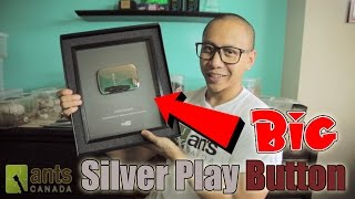 Bigger Than Usual SILVER PLAY BUTTON?! (Unbox...