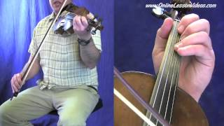 BILLY IN THE LOWGROUND - Bluegrass Fiddle Lessons by Ian Walsh
