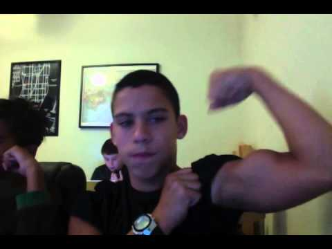1st Video Flexing My Arms Youtube