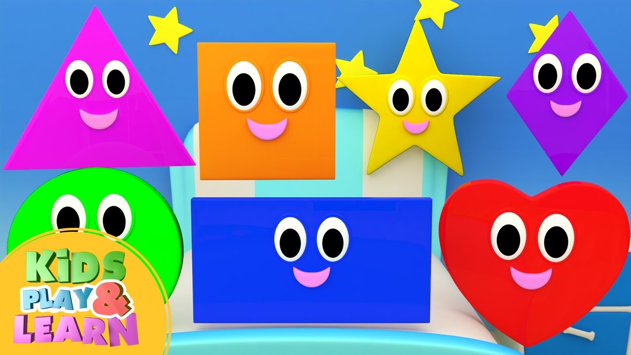 Learn Shapes For Kids With Starfall