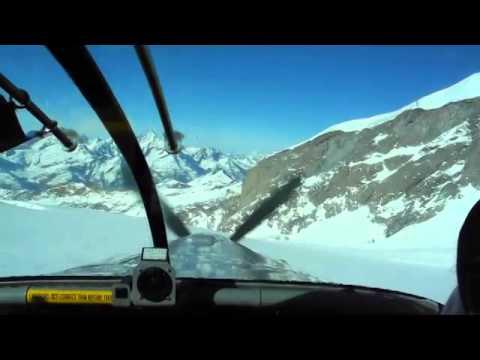 Pilatus Porter PC-6 Glacier Landing