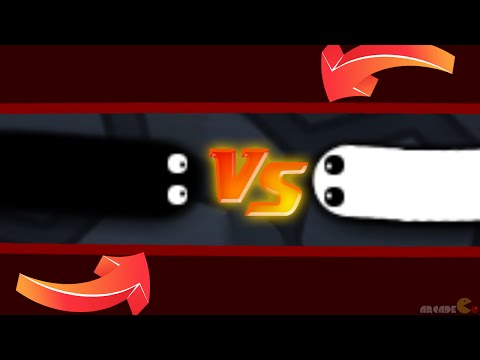Slither.io New Skin Mod White Vs Black Invisible Ninja Live Stream!