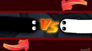 Slither.io New Skin Mod White Vs Black Invisible Ninja Live Stream!