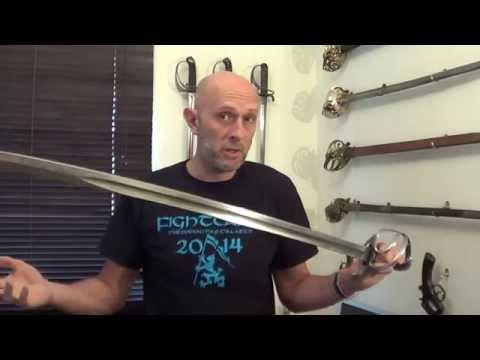 Antique swords: The British 1821 light cavalry sword is a good sword