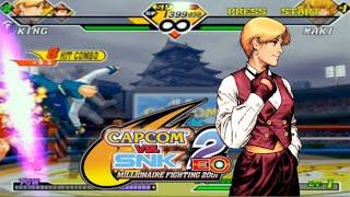 Capcom Vs SNK 2 EO - King