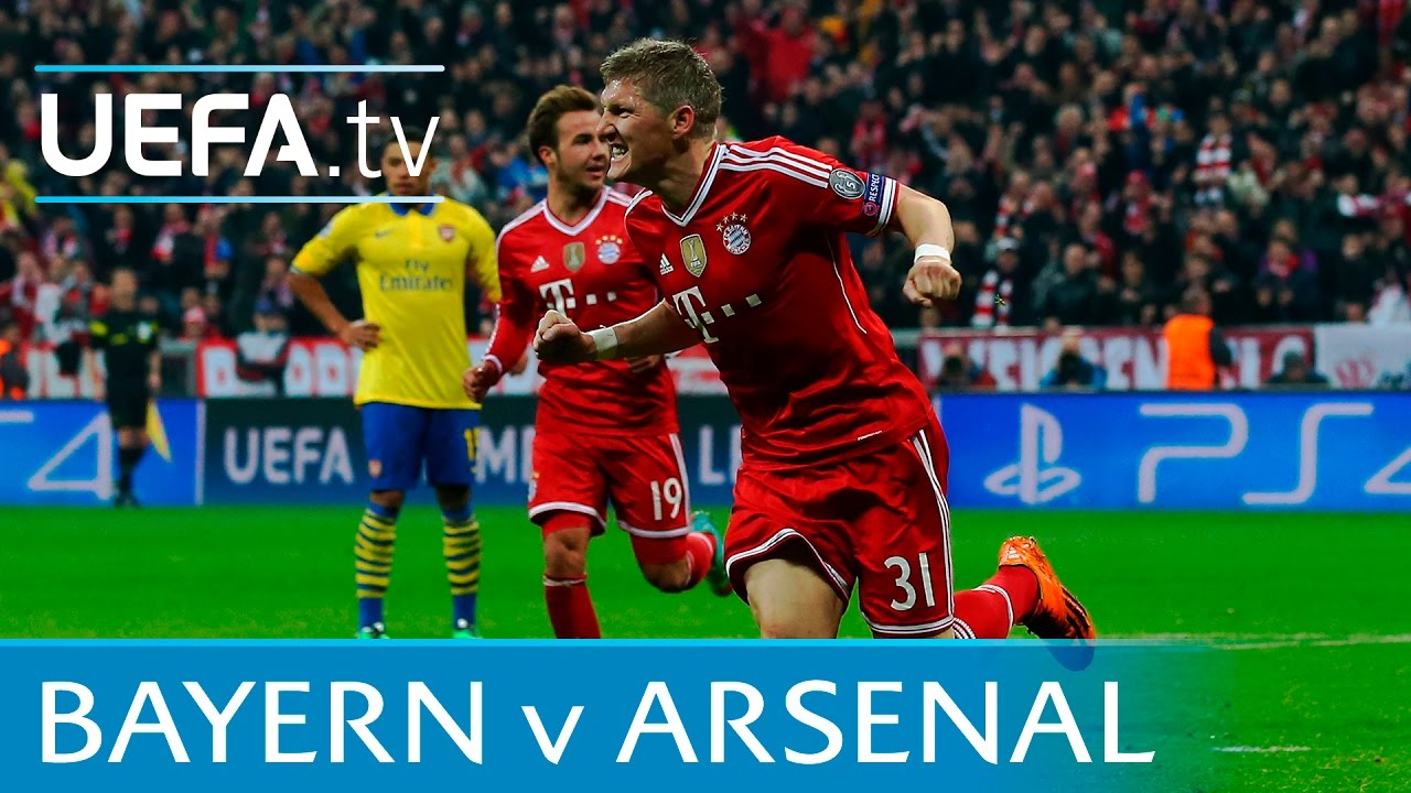 bayern arsenal highlights