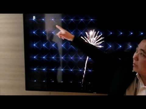 Vizio 2018 FALD Demo of E, M, P, and P Quantum Series TV's Backlight Arrays