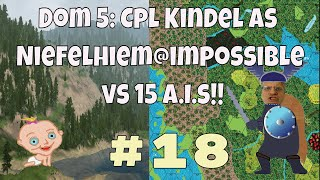 Dominions 5 Warriors of the Faith, Cpl. Kindel gameplay #18 Dom 5 is a turn based 4x strategy game